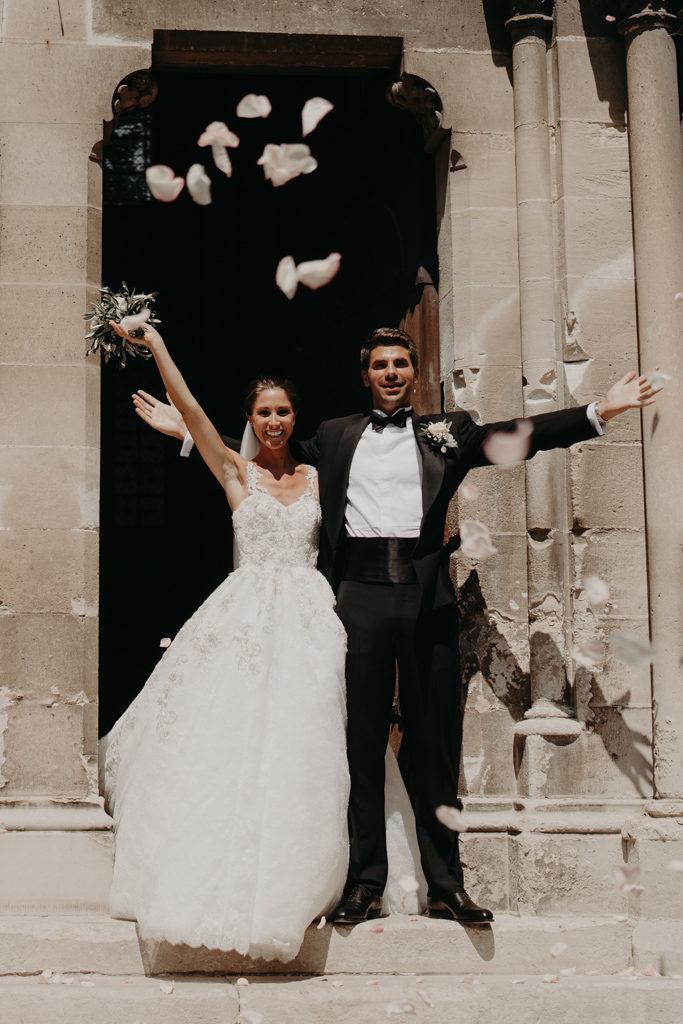 Mariage chateau de bouffémont wedding paris France french castle church