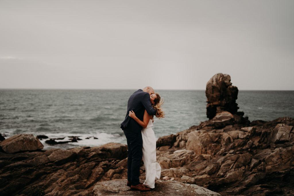 Mariage pointe de la torche finistère bretagne photographe
