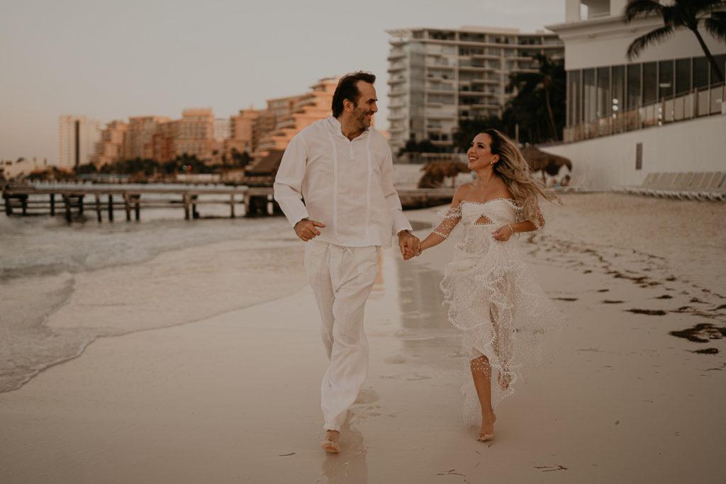 elopement cancun mariage bohème se marier a l'etranger