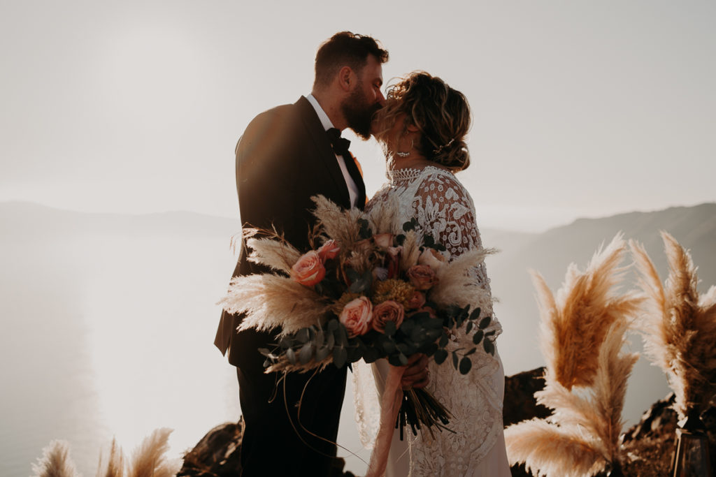 laurene and the wolf elopement santorin julia and evita 127 1024x683 - Santorini elopement : Katie + James