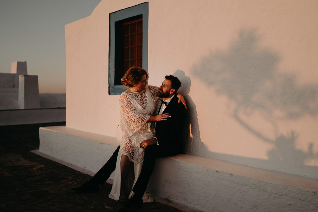 laurene and the wolf elopement santorin julia and evita 143 1024x683 - Santorini elopement : Katie + James