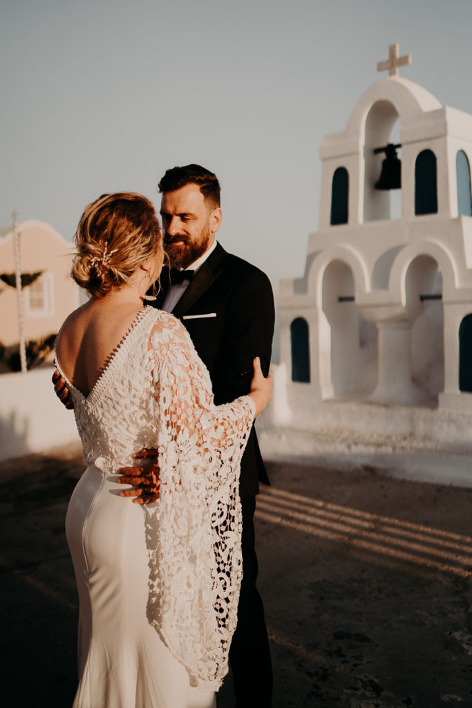 laurene and the wolf elopement santorin julia and evita 186 683x1024 - Santorini elopement : Katie + James