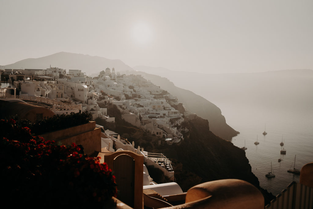 laurene and the wolf elopement santorin julia and evita 190 1024x683 - Santorini elopement : Katie + James